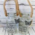 50% OFF Butterfly Slogan Glass Jars
